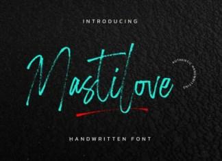 Mastilove Font