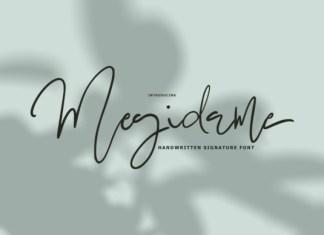 Megidame Font