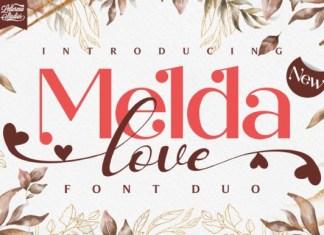 Melda Love Font
