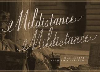 Mildistance Font
