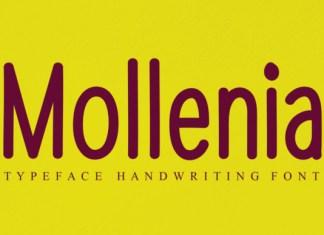 Mollenia Font