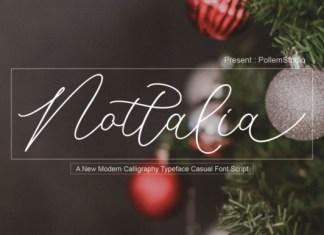 Nottalia Font
