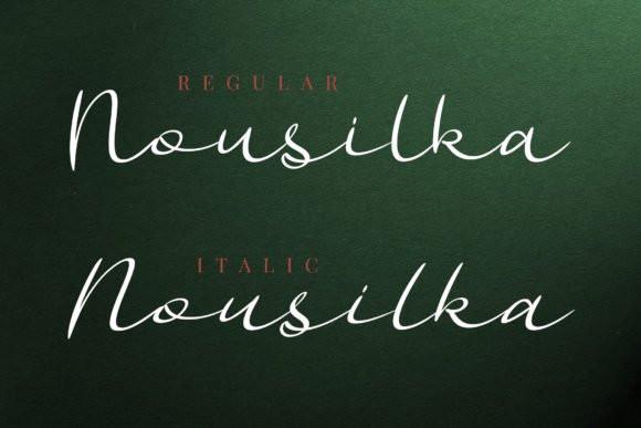 Nousilka Font