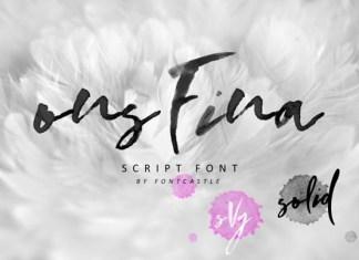 OnsFina Font