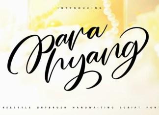 Para Hyang Font