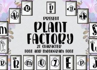 Plant Factory Font