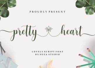 Pretty Heart Font