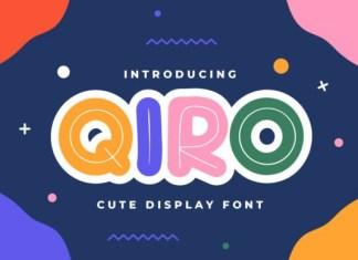 Qiro Font