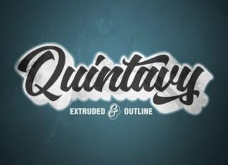 Quintavy Font