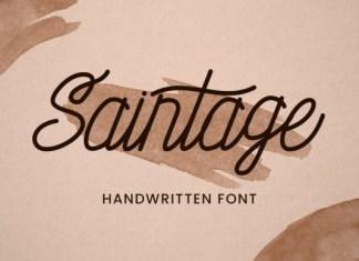 Saintage Font