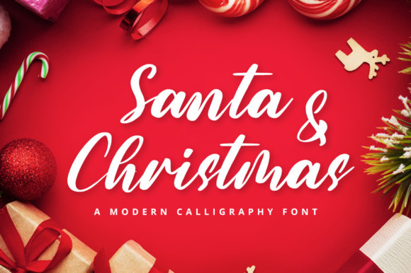 Santa & Christmas Font