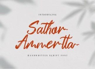 Sathor Ammertta Font