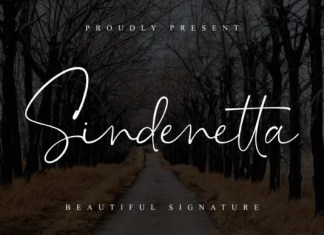 Sindenetta Font