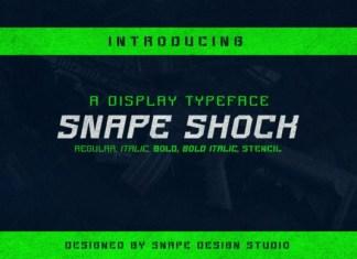 Snape Shock Font