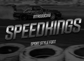 Speedkings Font