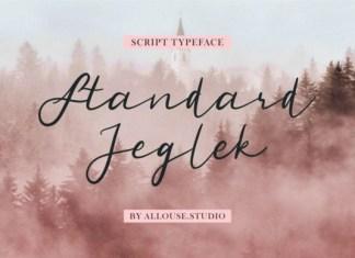 Standard Jeglek Font