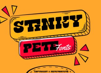 Stinky Pete Font