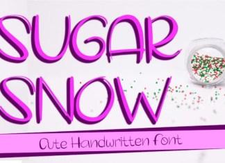 Sugar Snow Font