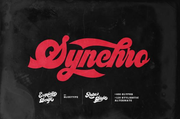 Synchro Font
