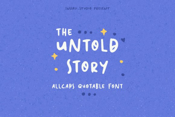 The Untold Story Font