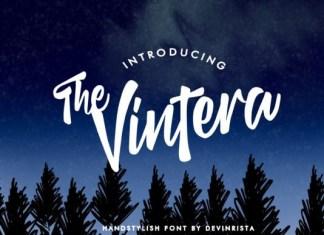 The Vintera Font