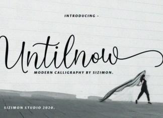 Untilnow Font