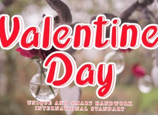Valentine Day Font