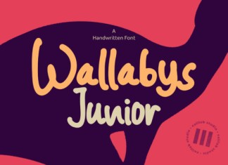 Wallabys Junior Font