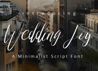 Wedding Joy Font