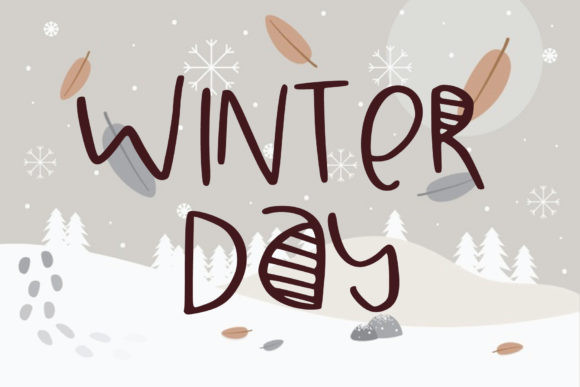 Winter Day Font