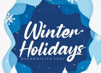 Winter Holidays Font