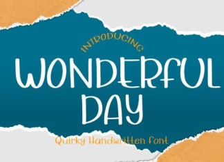 Wonderful Day Font