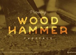Woodhammer Font