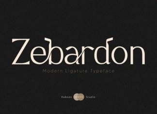 Zebardon Font