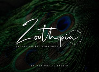 Zoothopia Font