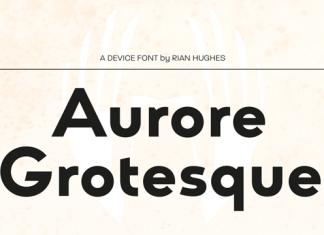 Aurore Grotesque Font