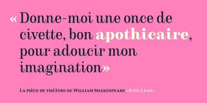 Apothicaire Font