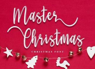 Master Christmas Font