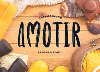Amotir Font