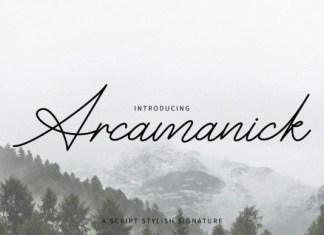 Arcamanick Font