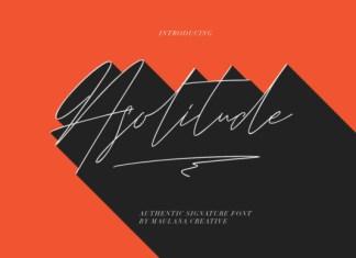Asolitude Font