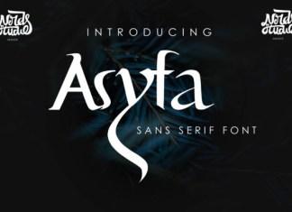 Asypa Font
