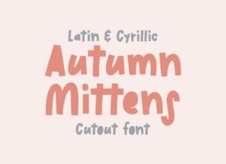 Autumn Mittens Font