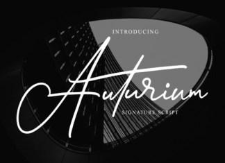 Auturium Font