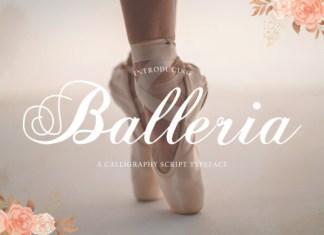 Balleria Font