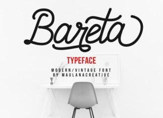 Bareta Font