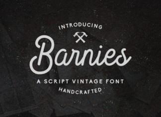 Barnies Font