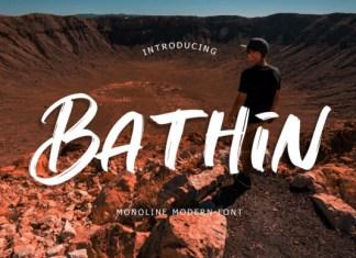 Bathin Font
