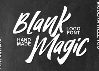 Blank Magic Font