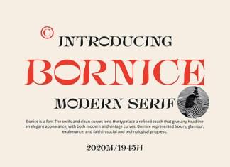 Bornice Font